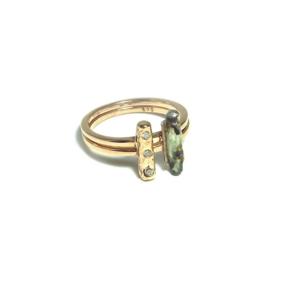 Diamond Change Ring - Double stack