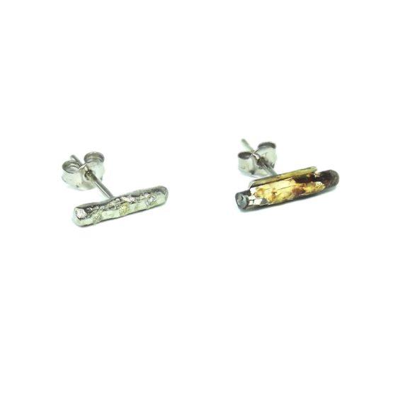 Diamond Peace Earrings